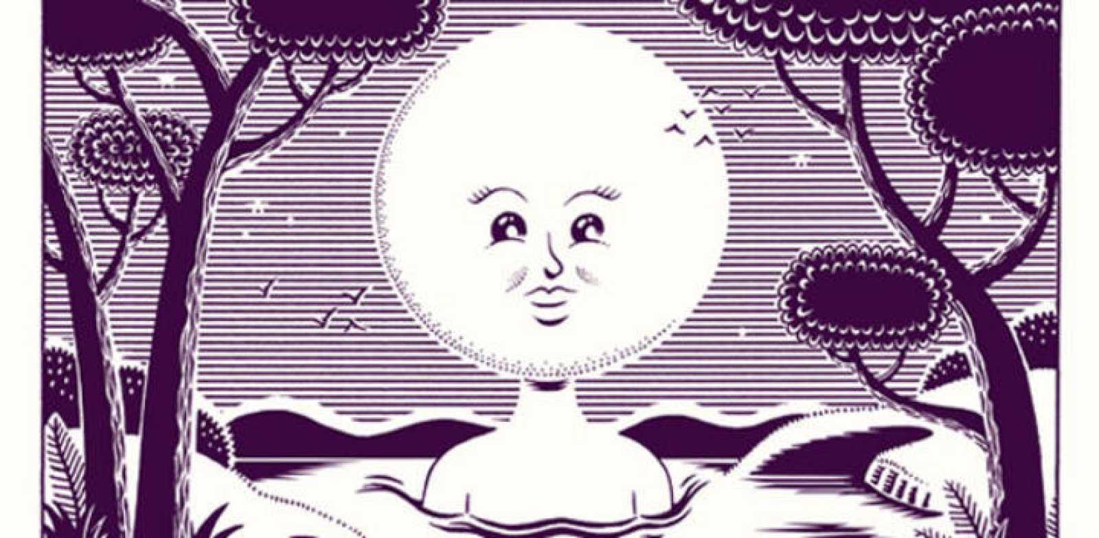 Fragmento de una ilustración de 'Episodios lunares'