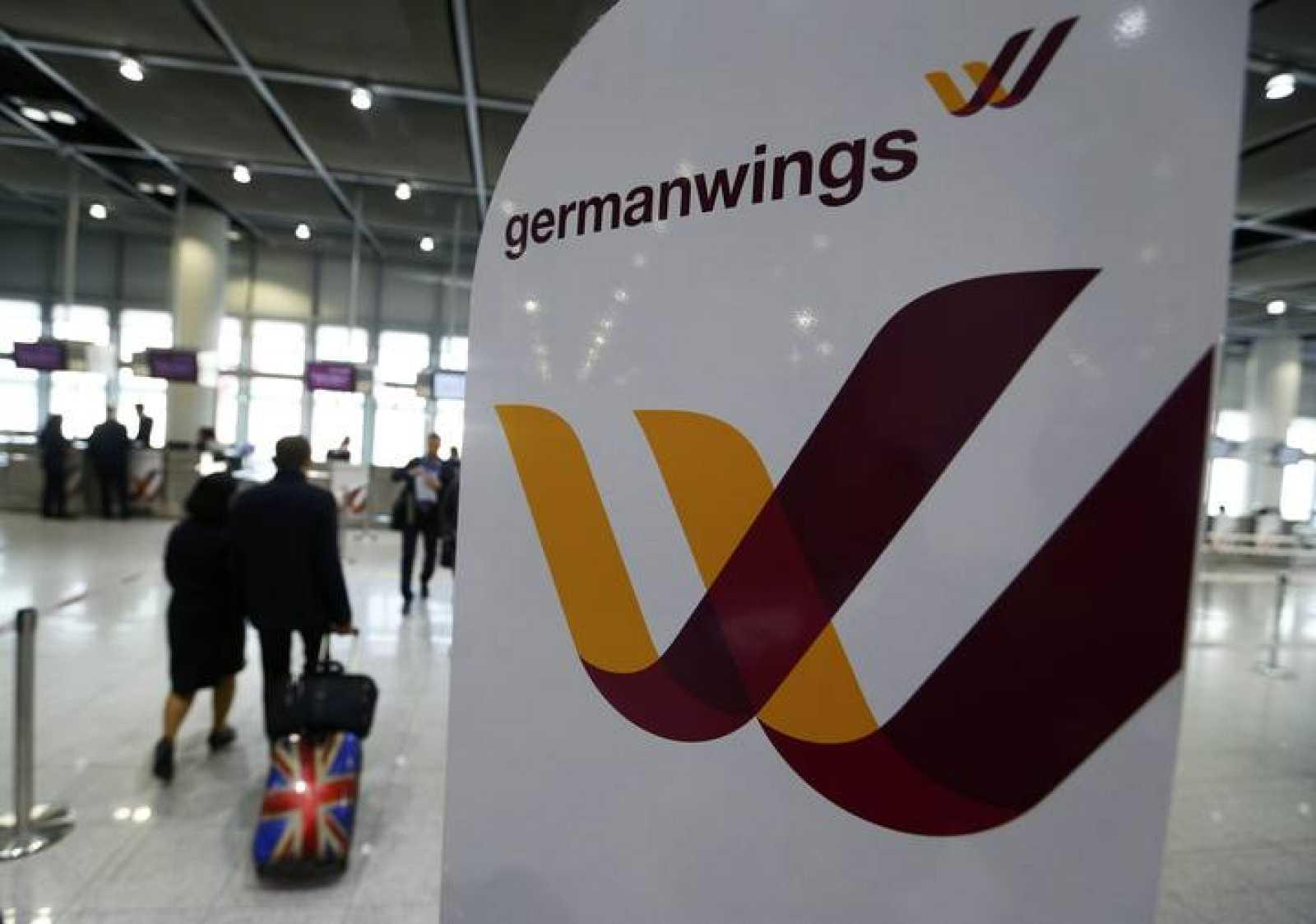 Imagen del aeropuerto de Düsseldorf tomada el martes 24 de marzo