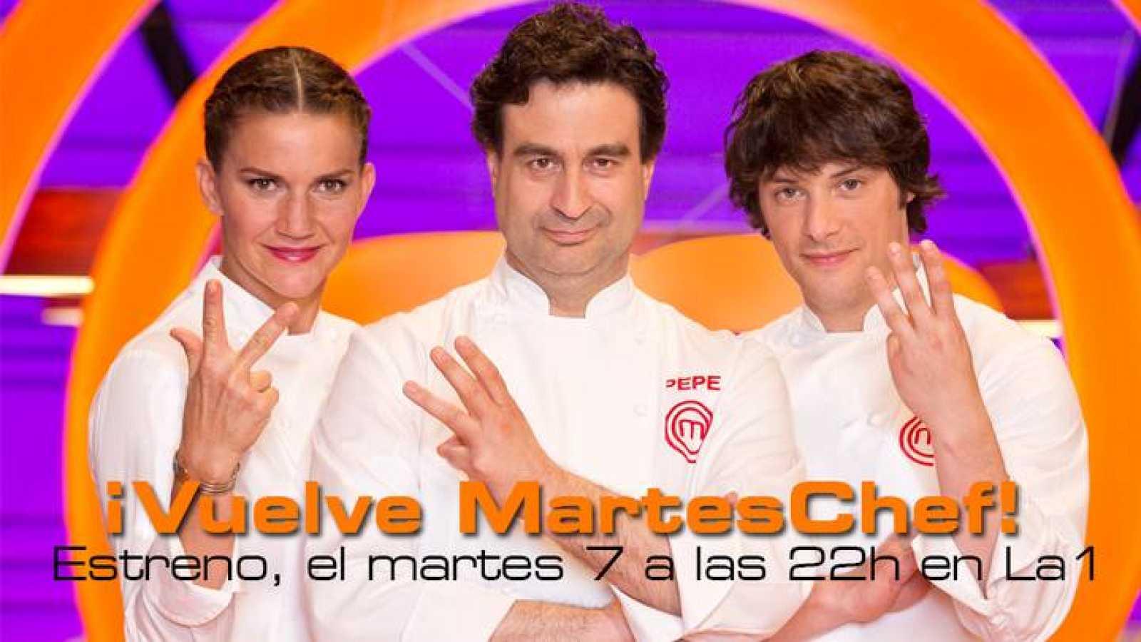 TVE estrena MasterChef 3 el martes, 7 de abril