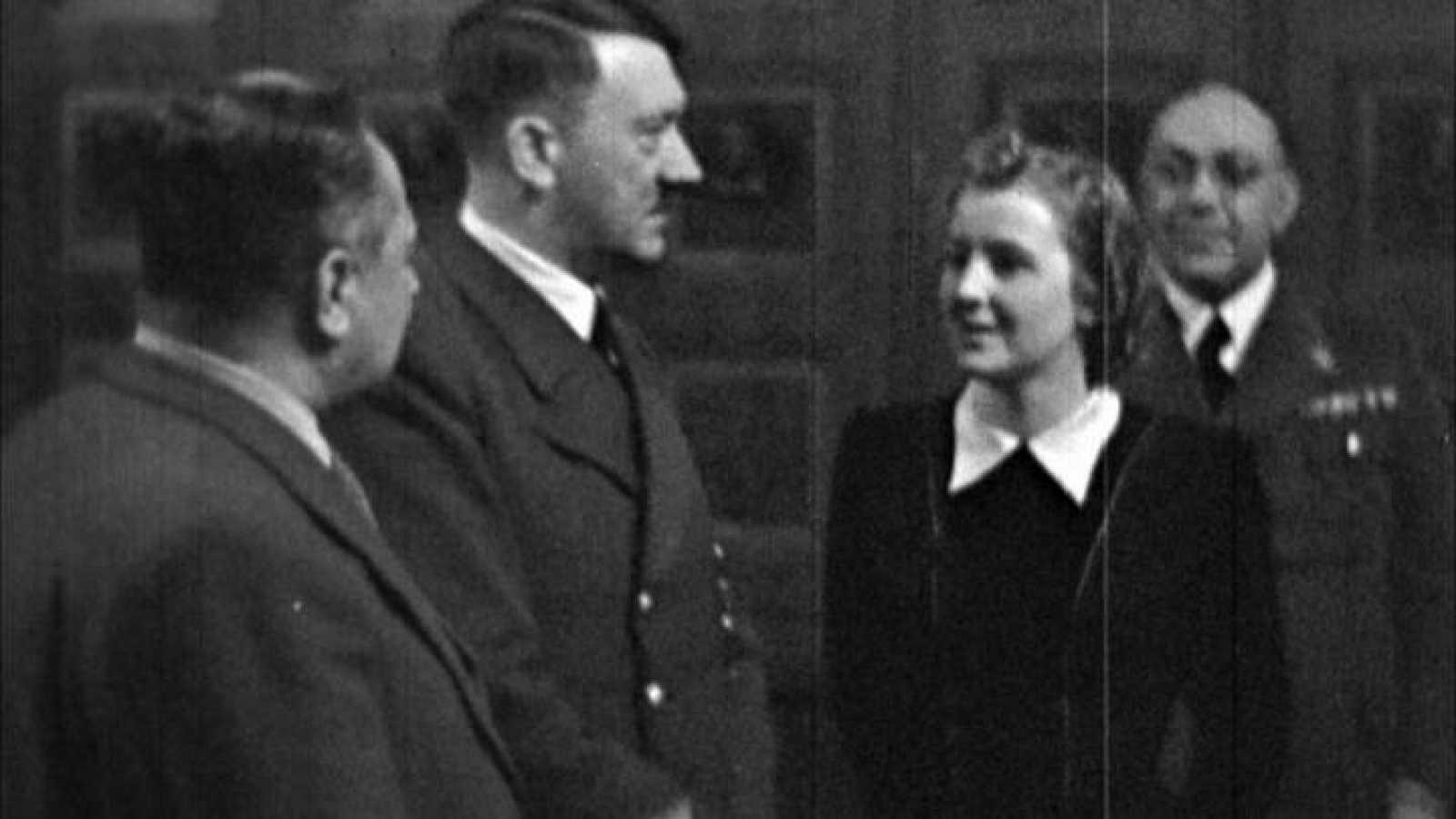Hitler con Eva Braun