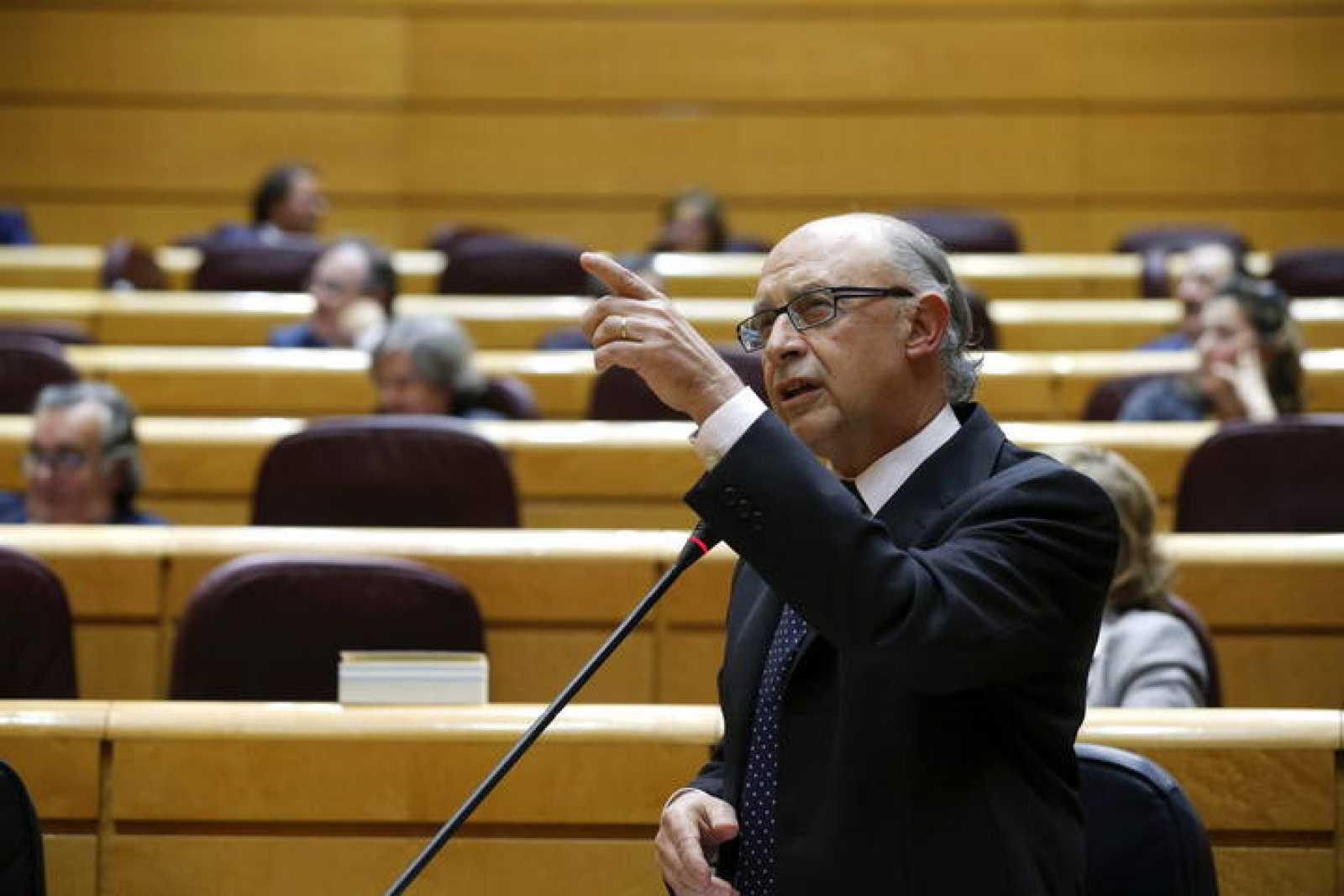 El ministro Hacienda y Administraciones Públicas, Cristóbal Montoro