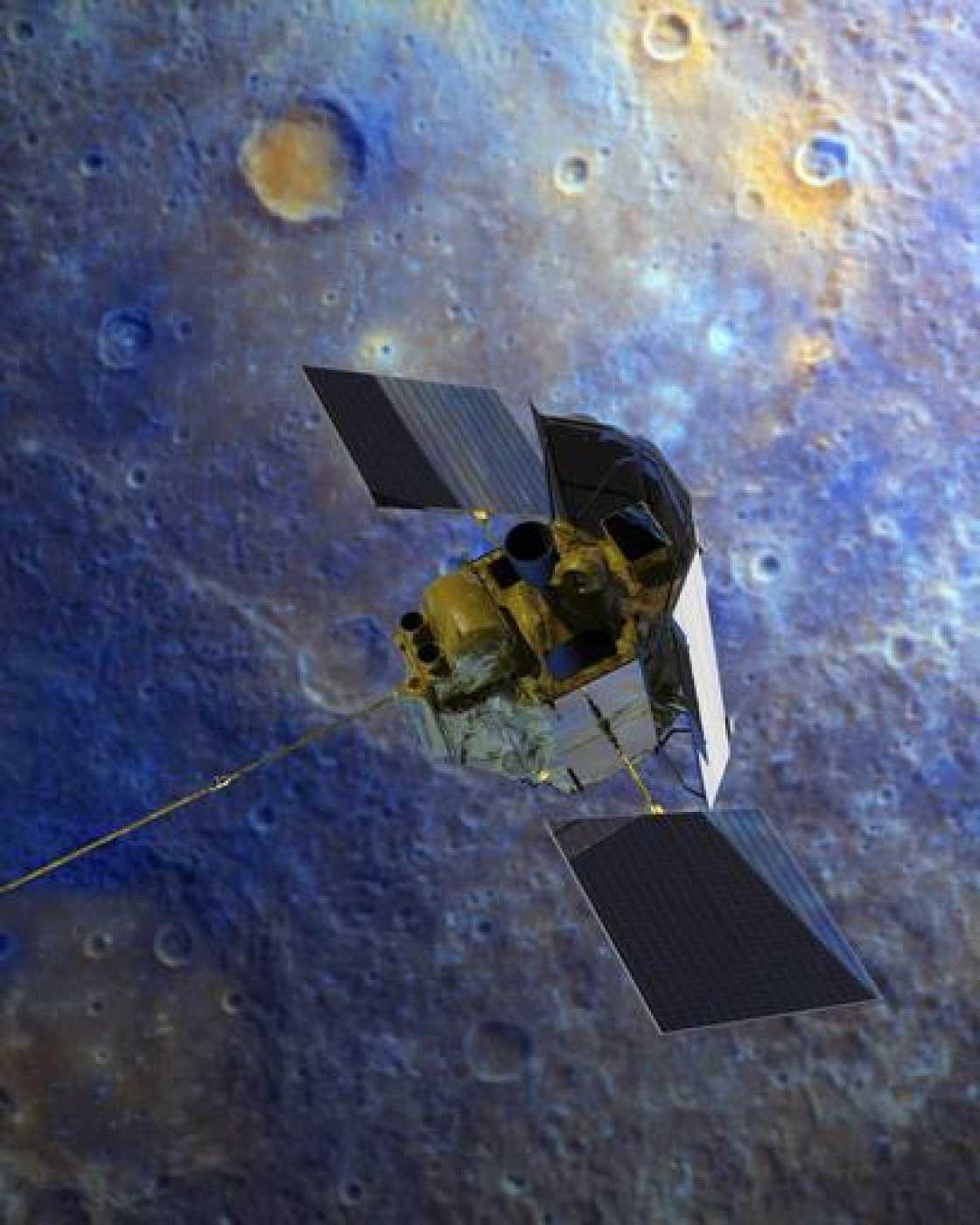 Sonda Messenger de la NASA.