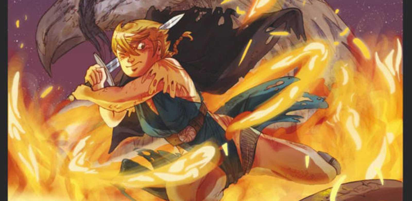 Fragmento de la portada de 'Zilia Quebrantahuesos'
