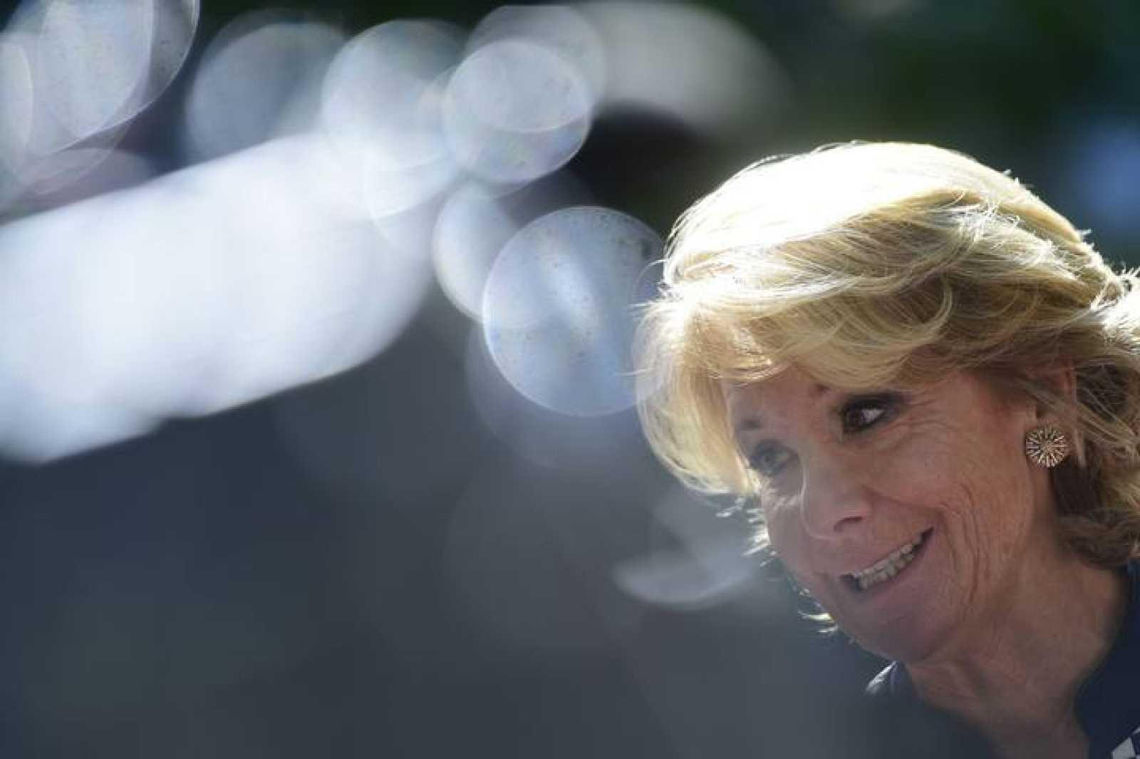 La candidata del PP al Ayuntamiento de Madrid, Esperanza Aguirre