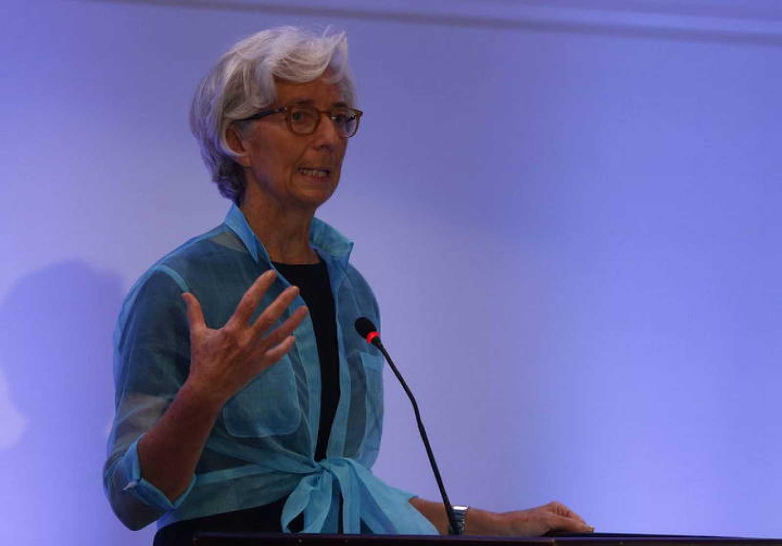 La directora general del Fondo Monetario Internacional (FMI), Christine Lagarde