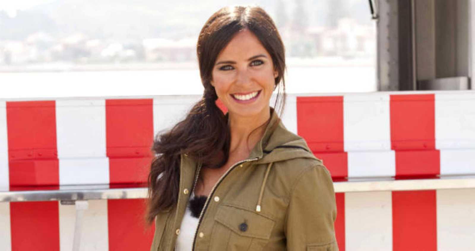 Paula Prendes, la presentadora de 'Cocineros al volante'