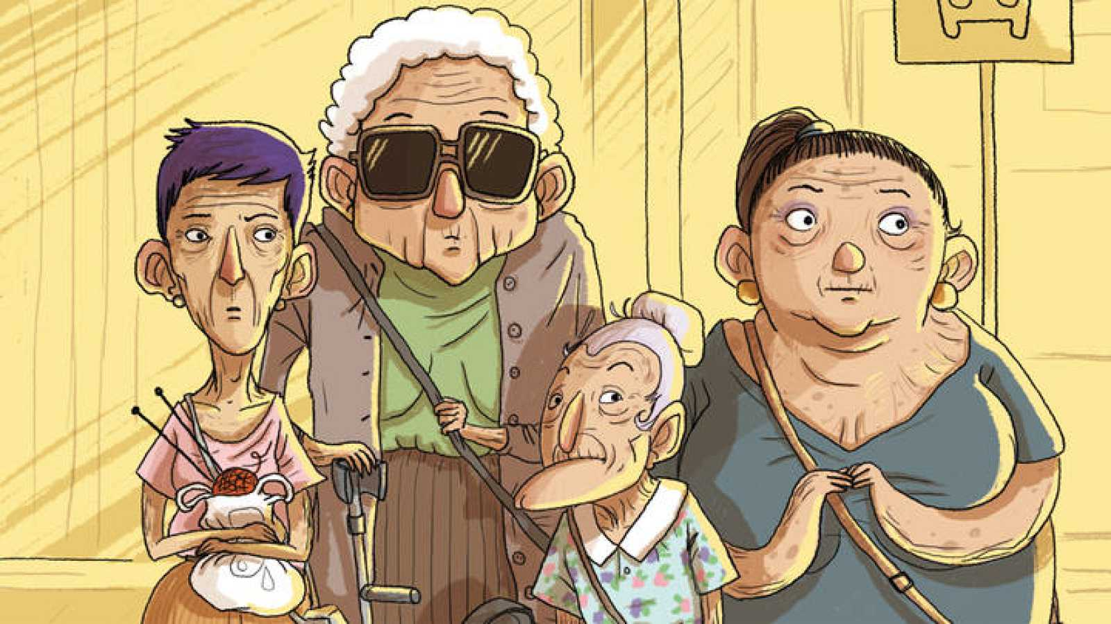 Las protagonistas de 'Las abuelas dan el golpe'