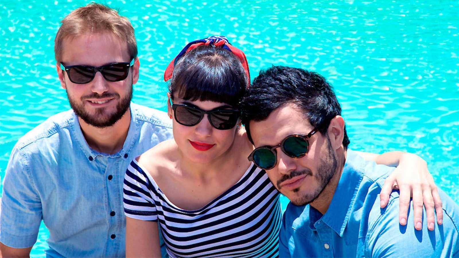 Julio Ródenas, Carolina Alba y Pablo González Batista radio 3