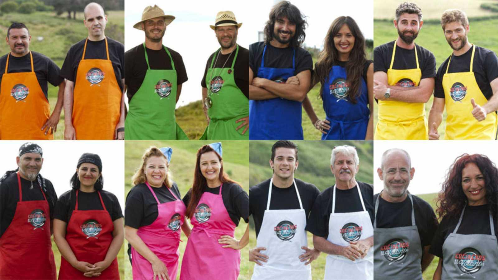 Conoce a los ocho concursantes de 'Cocineros al volante'