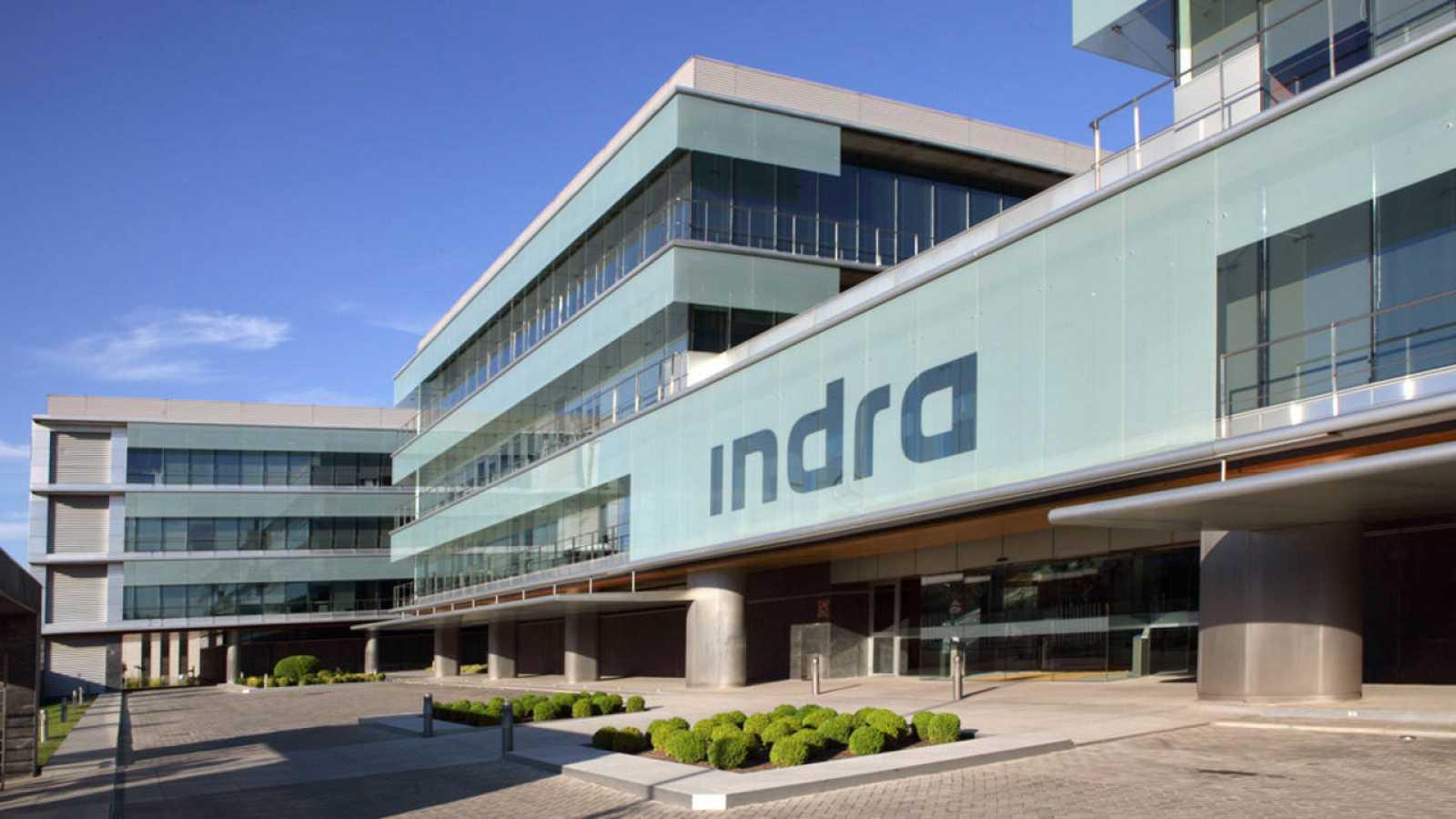 Sede de la empresa Indra en Alcobendas