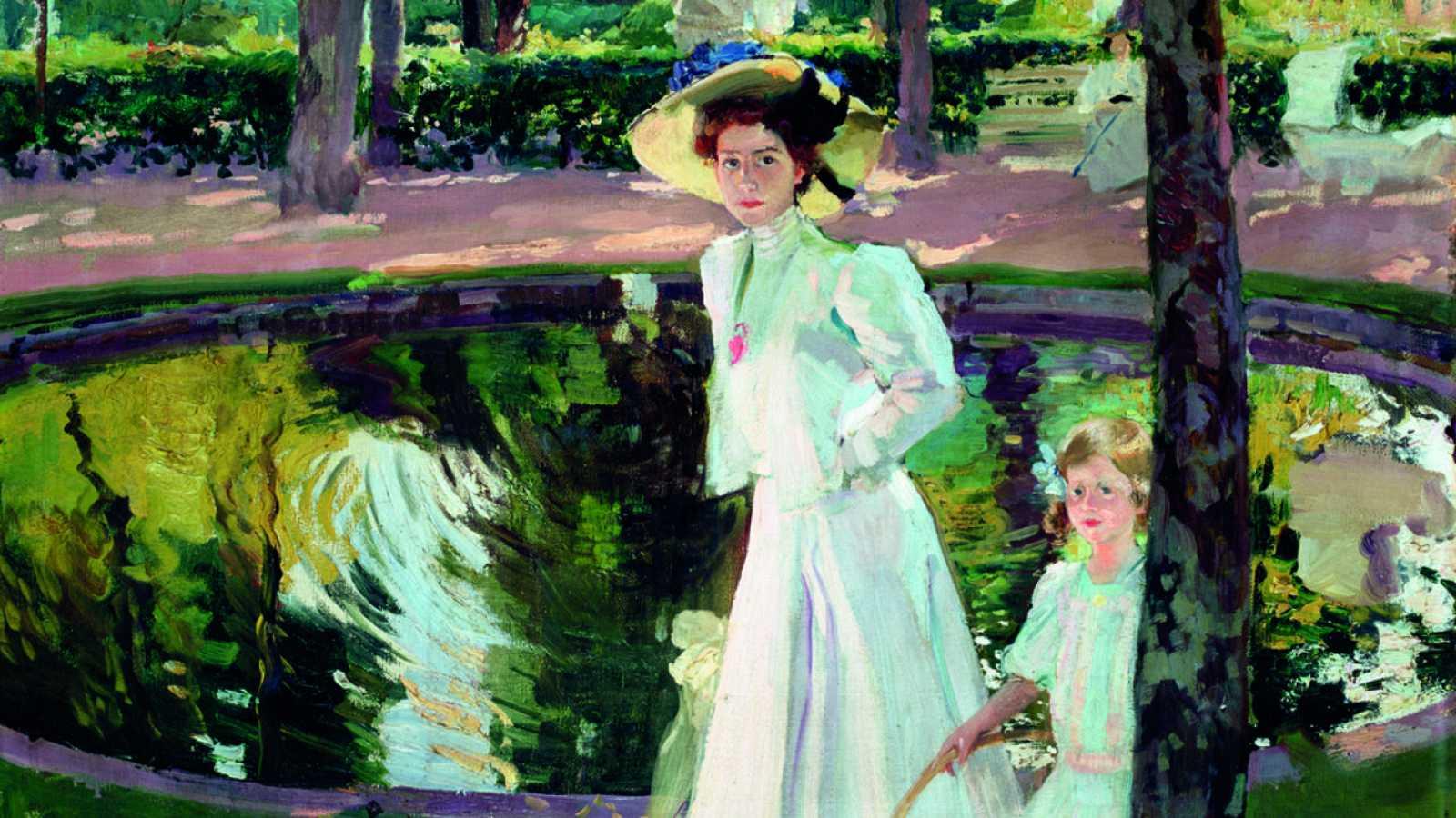 """Joaquín Sorolla, """"María en los jardines de La Granja"""", (1907) /Museo Sorolla"""