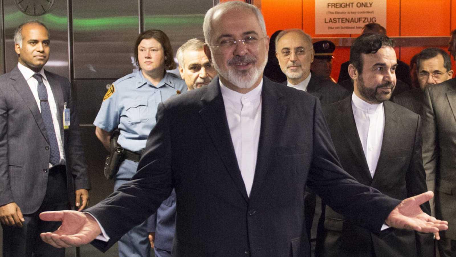El ministro de Exteriores de Irán, Mohamed Yavad Zarif