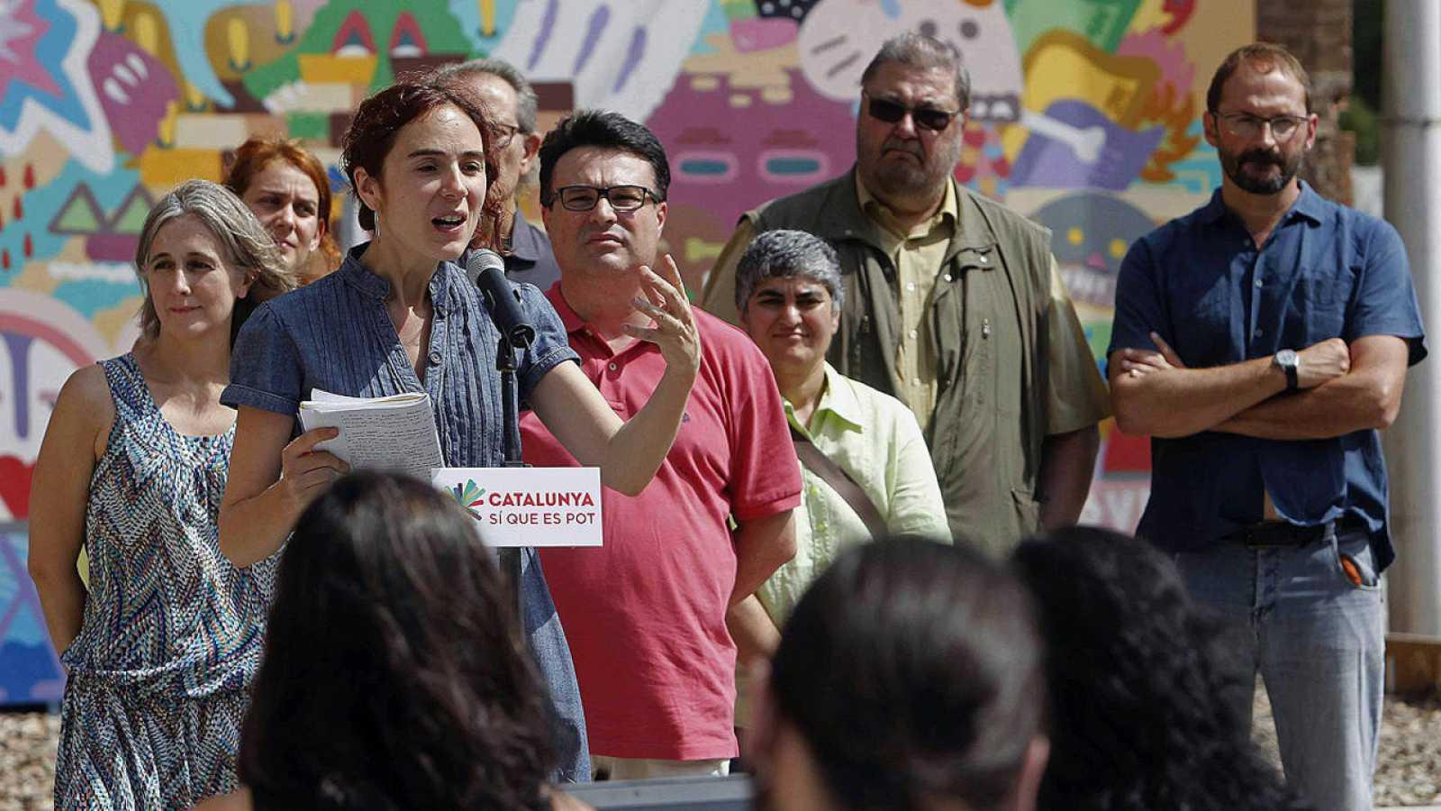 Gemma Ubarsat presenta la candidatura 'Catalunya, Sí que es Pot'