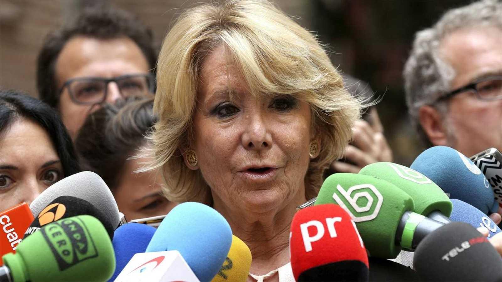La portavoz del Grupo Popular en el Ayuntamiento de Madrid, Esperanza Aguirre