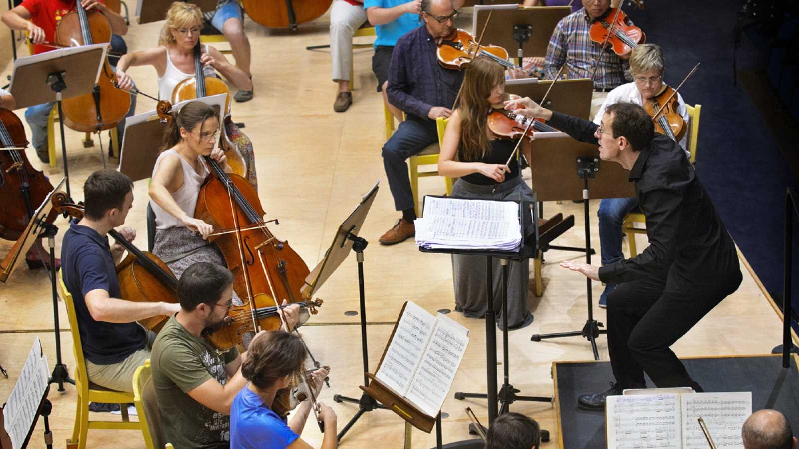 La Orquesta sinfónica de RTVE en el Festival Internacional de Santander