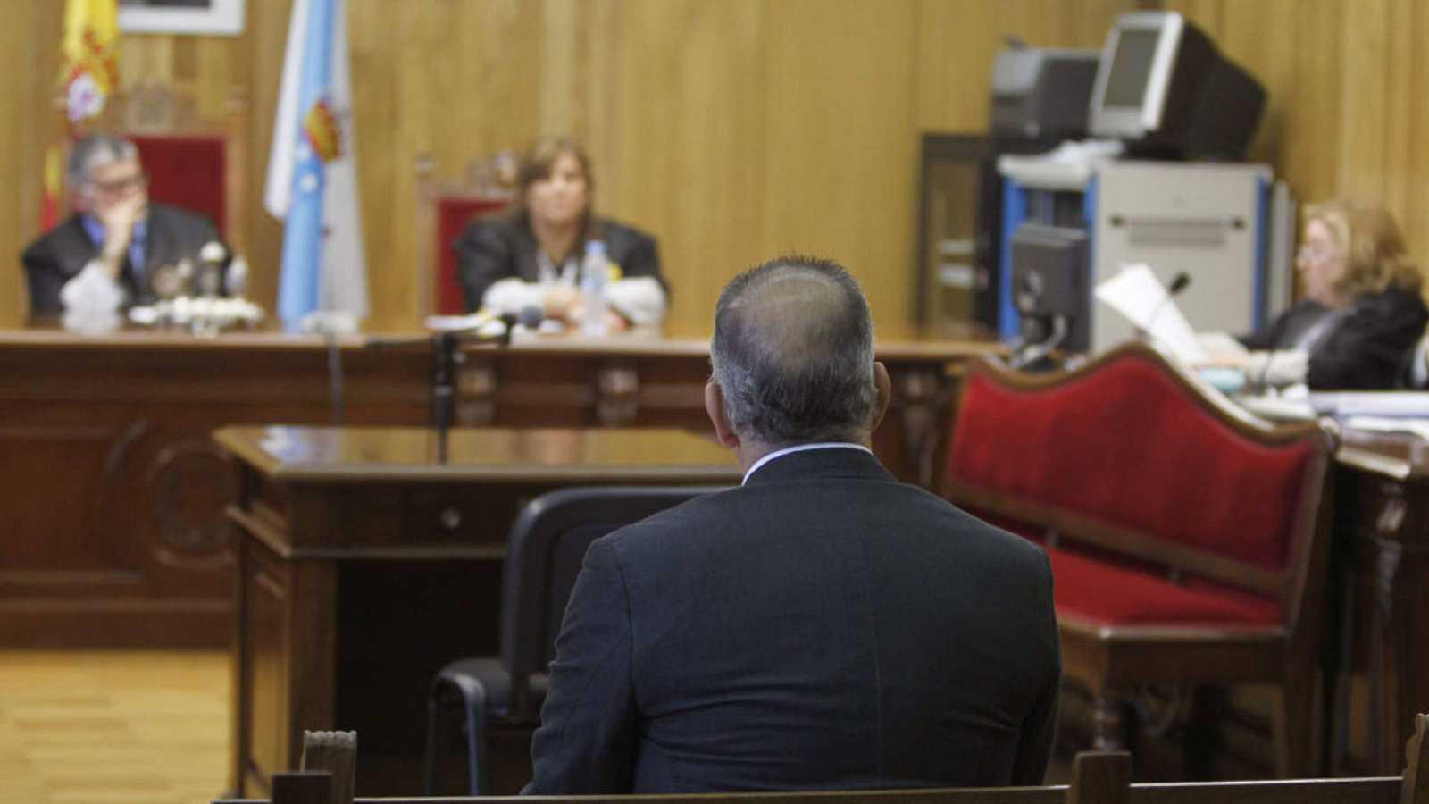 Imagen de un juicio en la Audiencia Provincial de Lugo