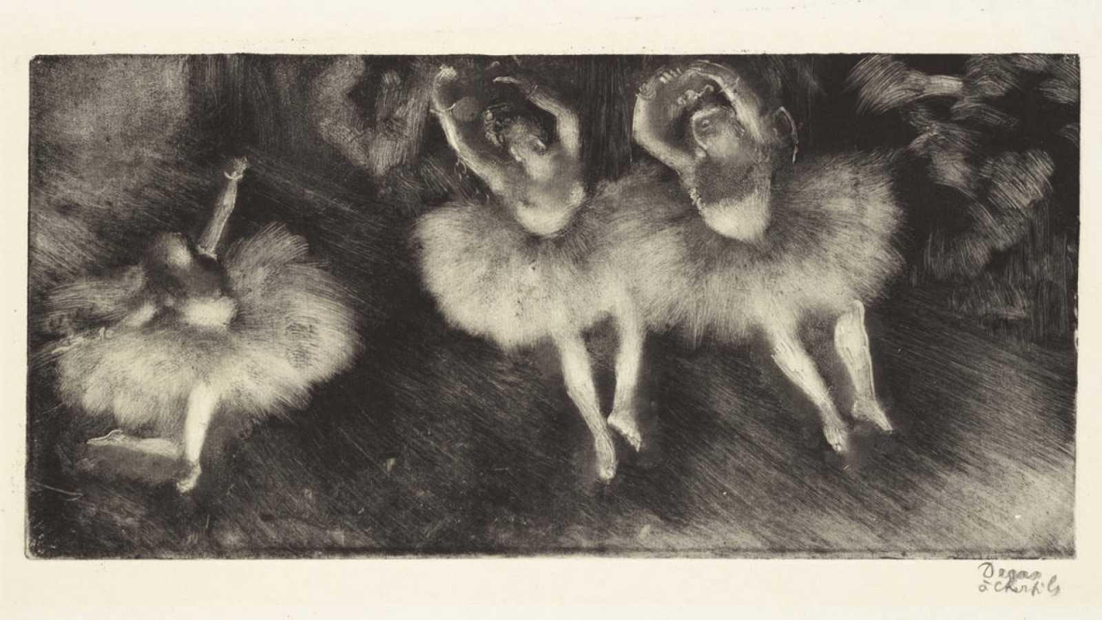 'Three ballet dancers' (1878-1880).