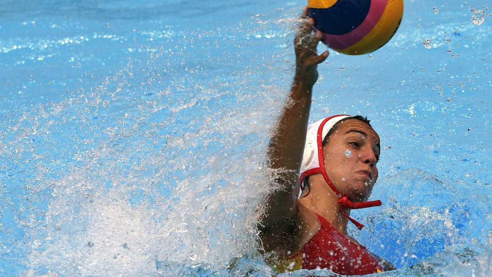 La jugadora de la selección española de waterpolo Anna Espar