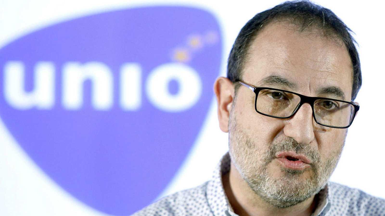 El candidato de UDC a la presidencia de la Generalitat, Ramón Espadaler.