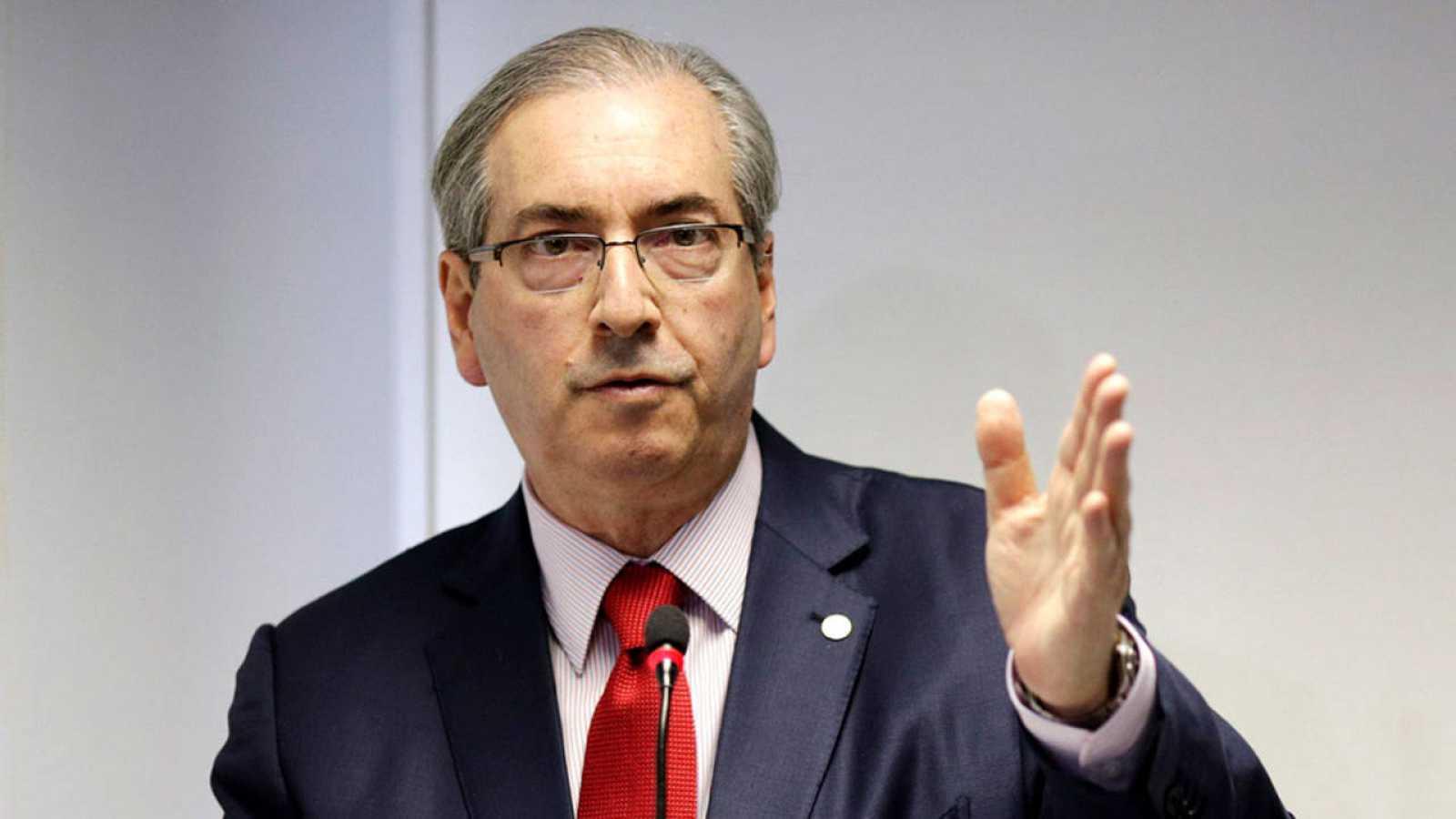 Imagen de archivo de Eduardo Cunha, presidente de la Cámara de los Diputados de Brasil.