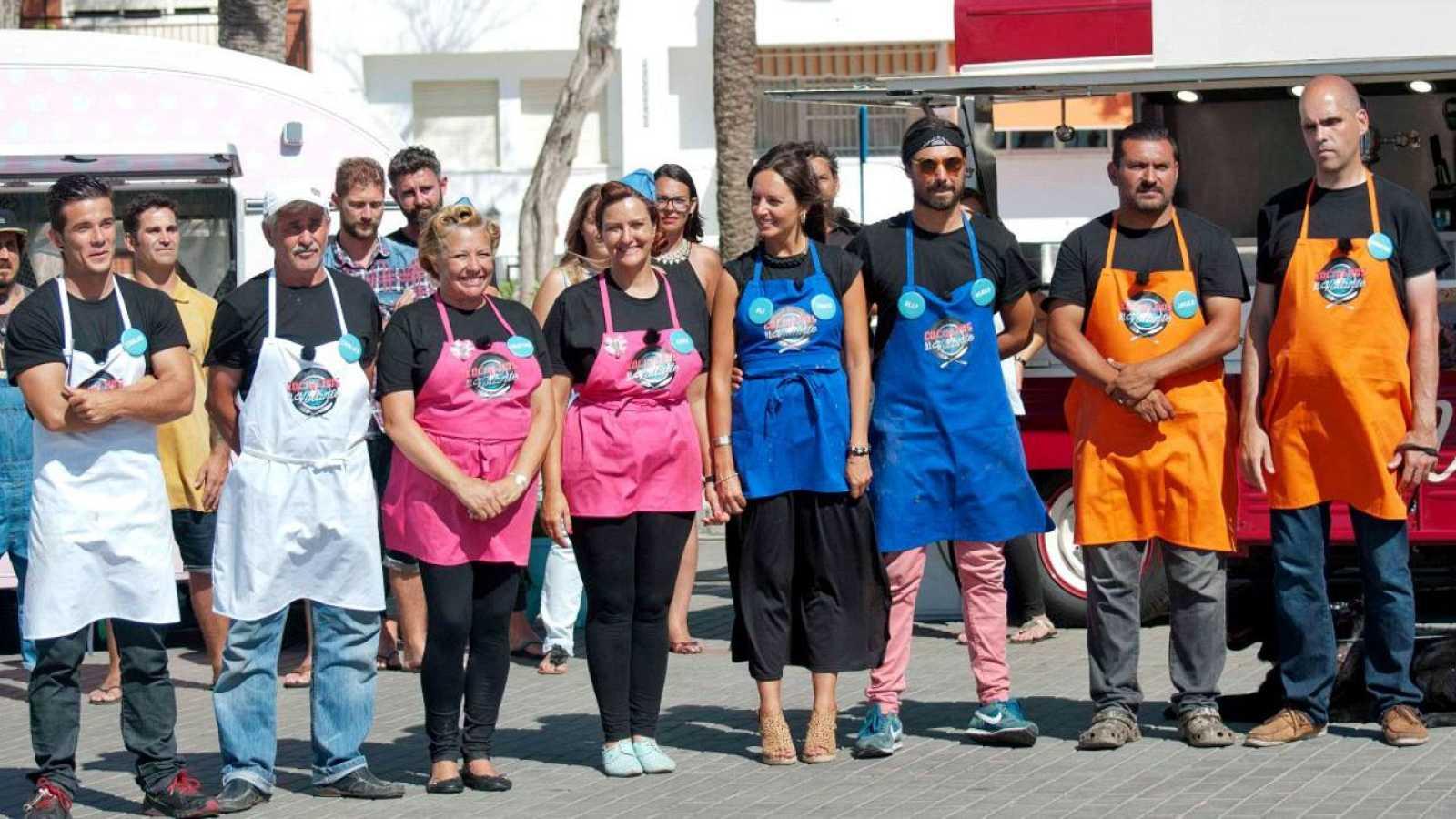 Los cuatro finalistas de 'Cocineros al Volante'