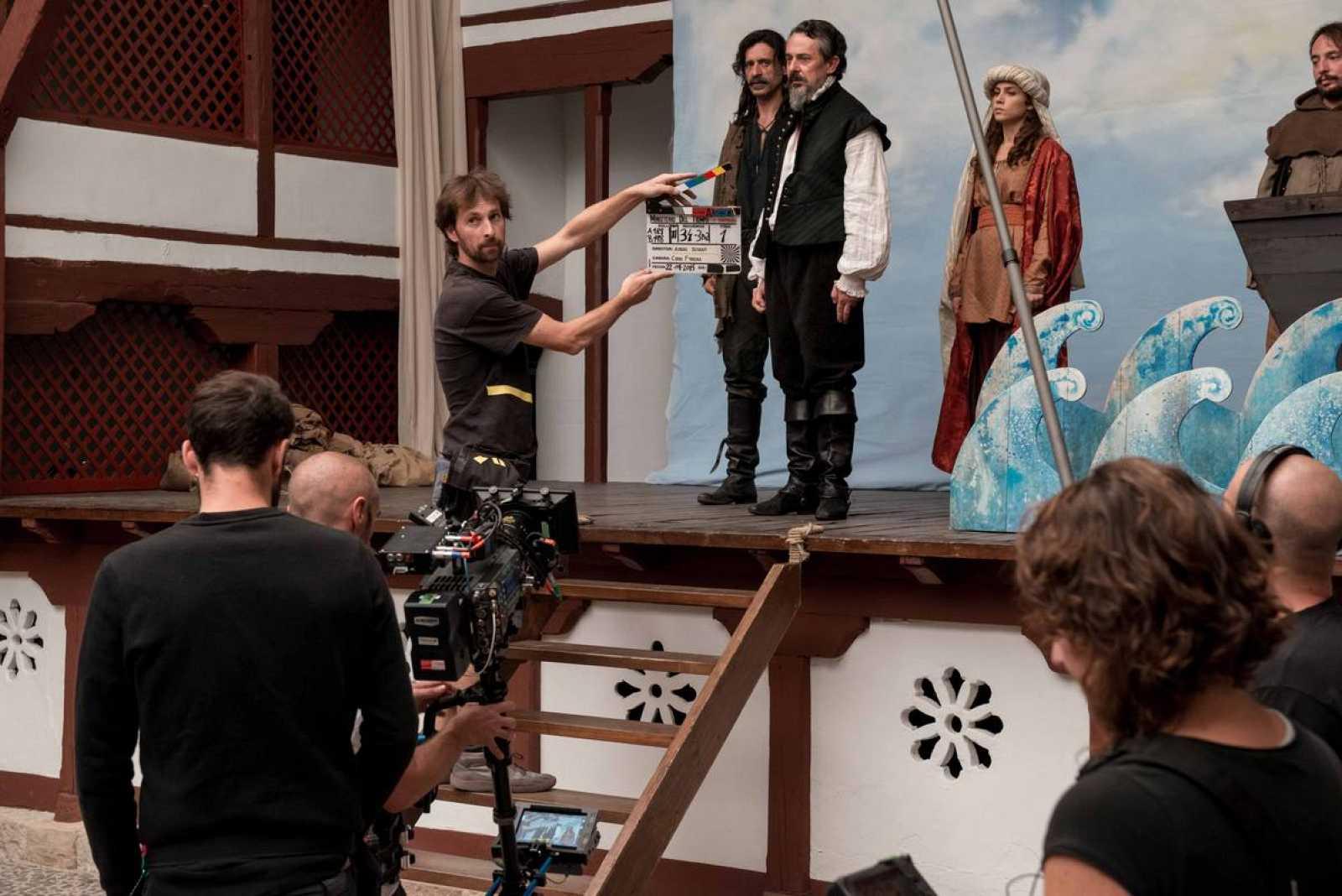 Pere Ponce es Miguel de Cervantes en 'El Ministerio del Tiempo'