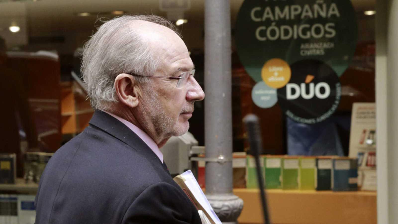 El exvicepresidente del Gobierno y ex director gerente del FMI, Rodrigo Rato