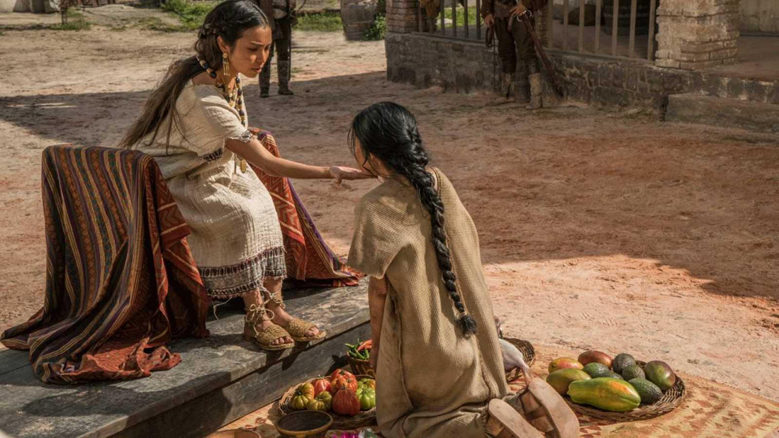 La Malinche se encuentra con su madre