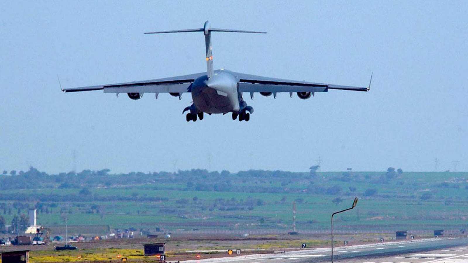 Aviones sobrevuelan el espacio aéreo turco.