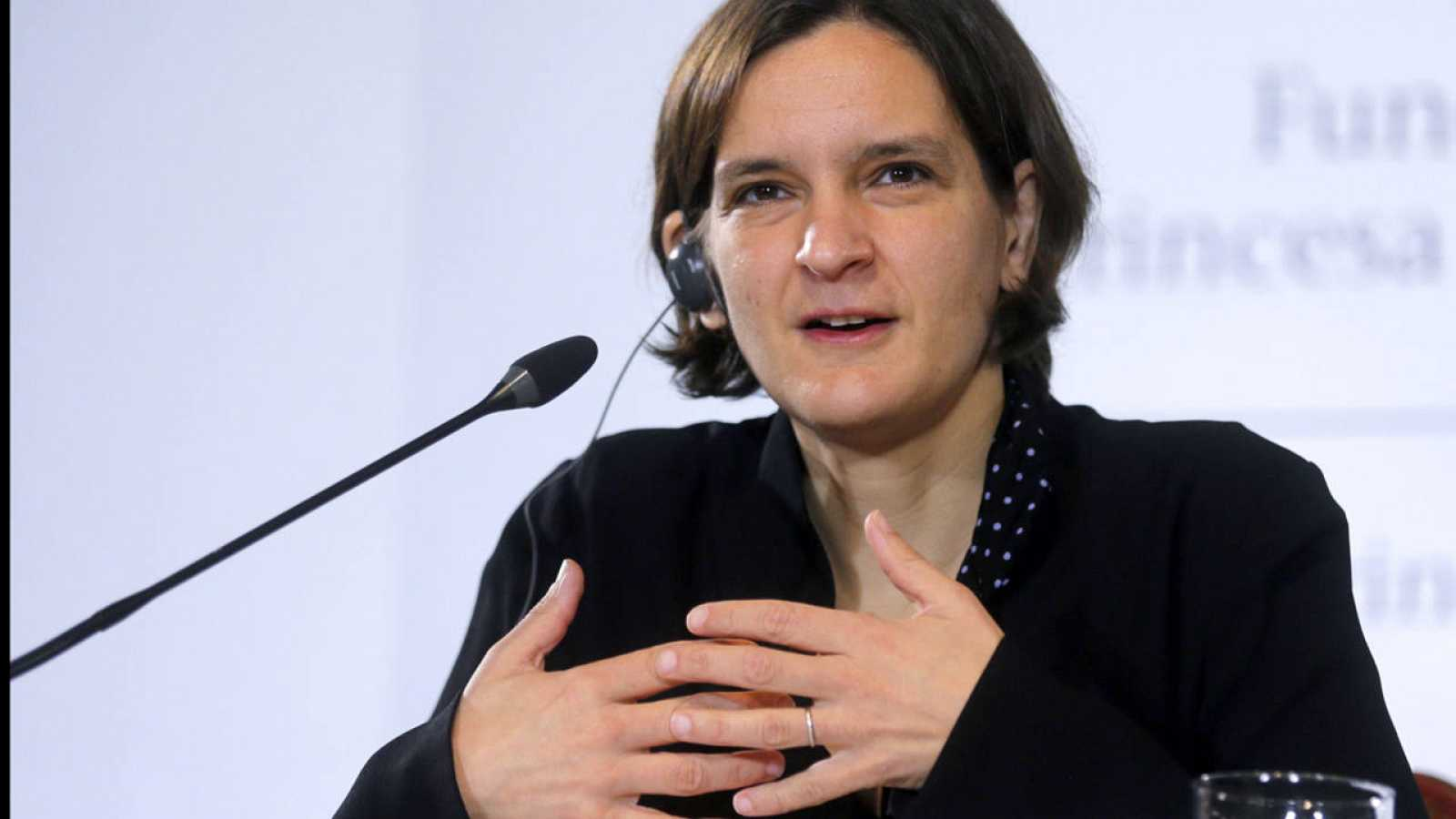 La economista Esther Duflo, premio Princesa de Asturias, en Oviedo