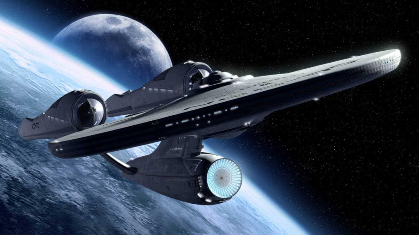 Imágen icónica de la Enterprise de 'Star Trek'