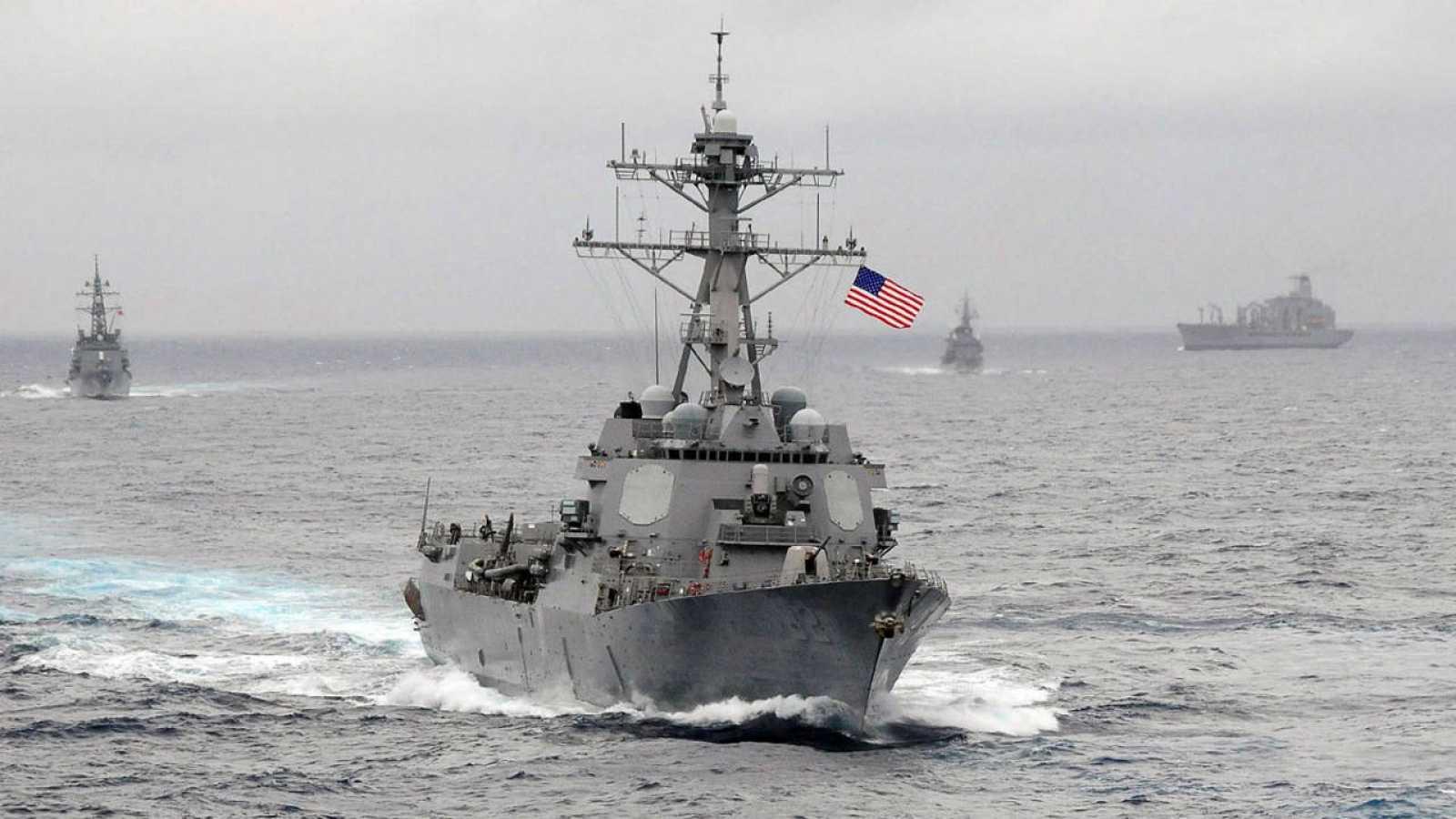 Imagen de archivo del buque estadounidense 'USS Lassen'.