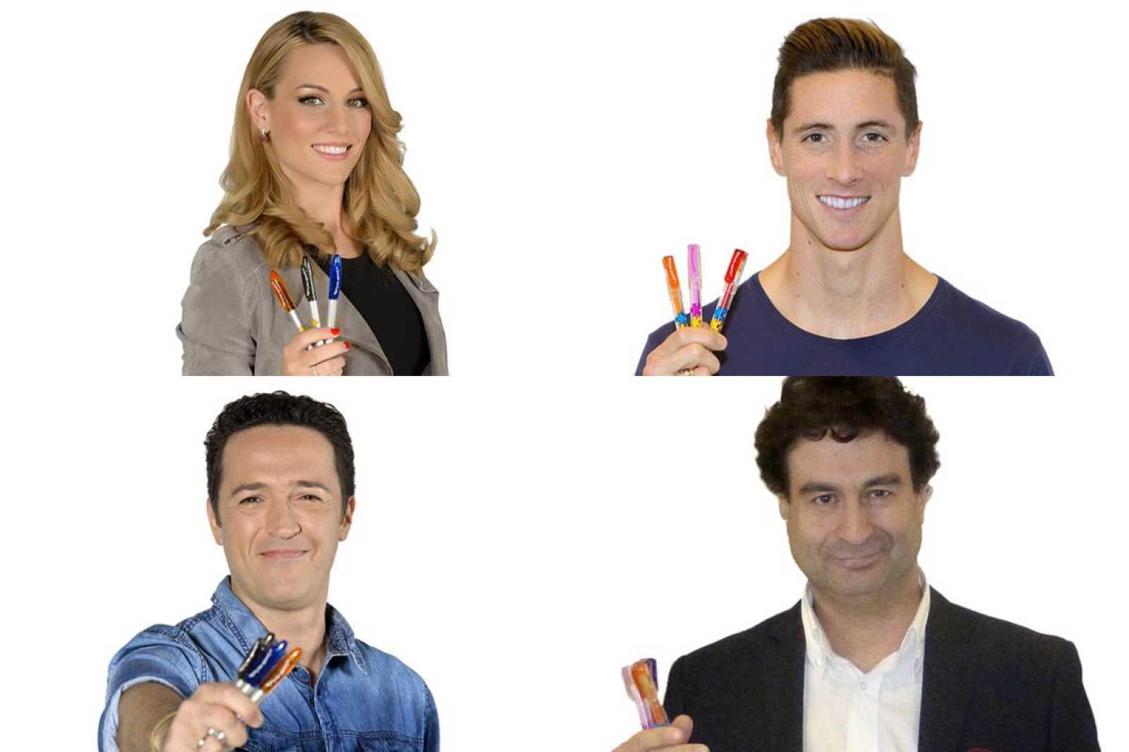 Edurne, Fernando Torres, Jacob Petrus y Pepe Rodríguez participan en la campaña