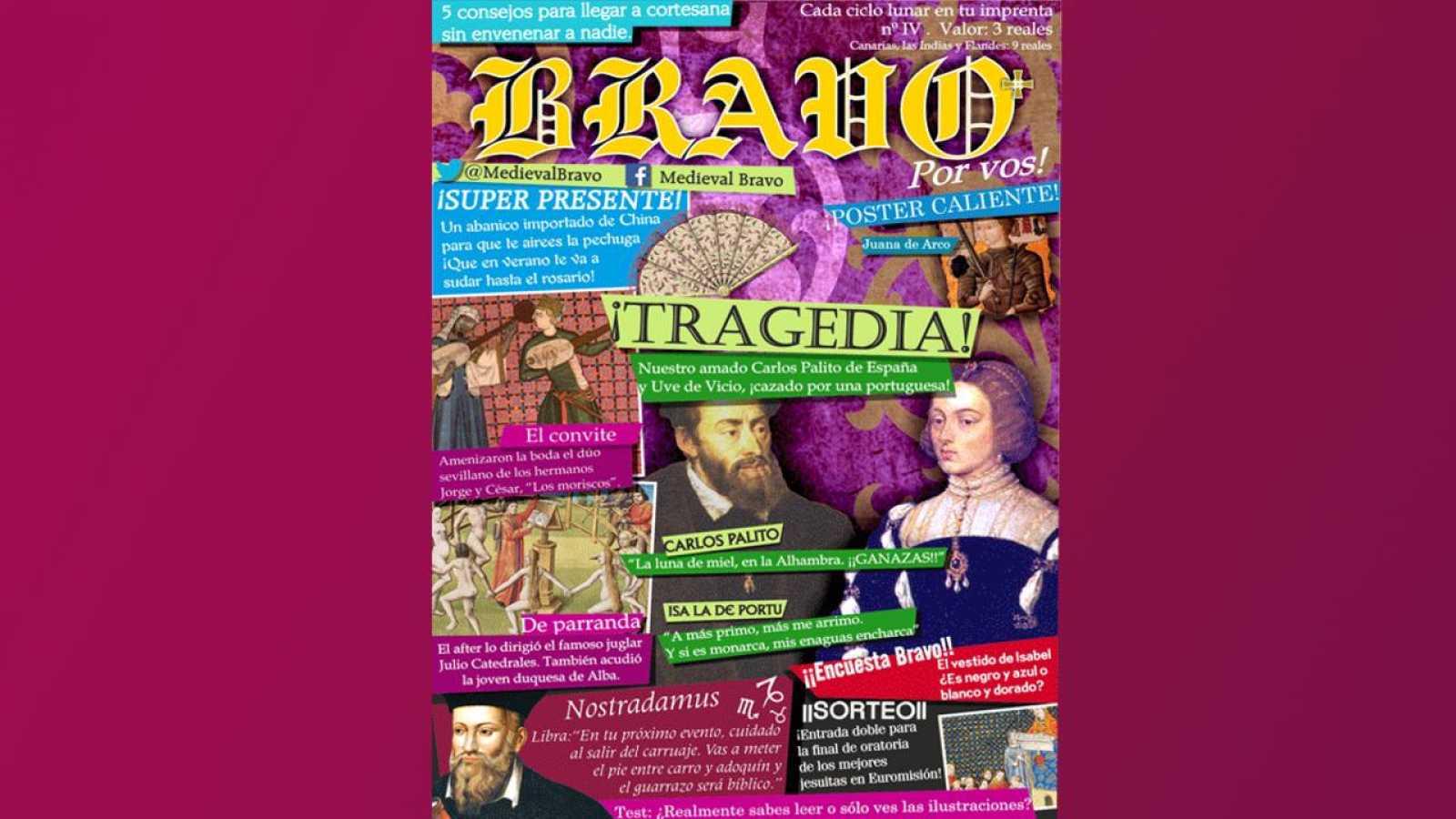 Medieval Bravo: La exclusiva de la boda de Carlos V e Isabel de Portugal