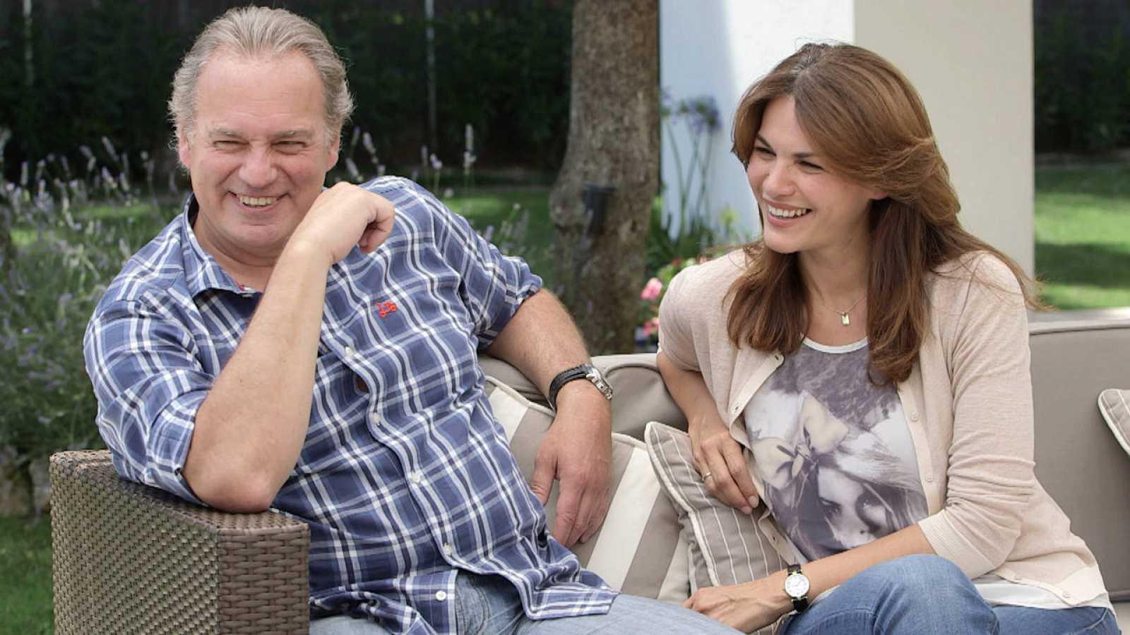Bertín y Fabiola en 'En la tuya o en la mía'
