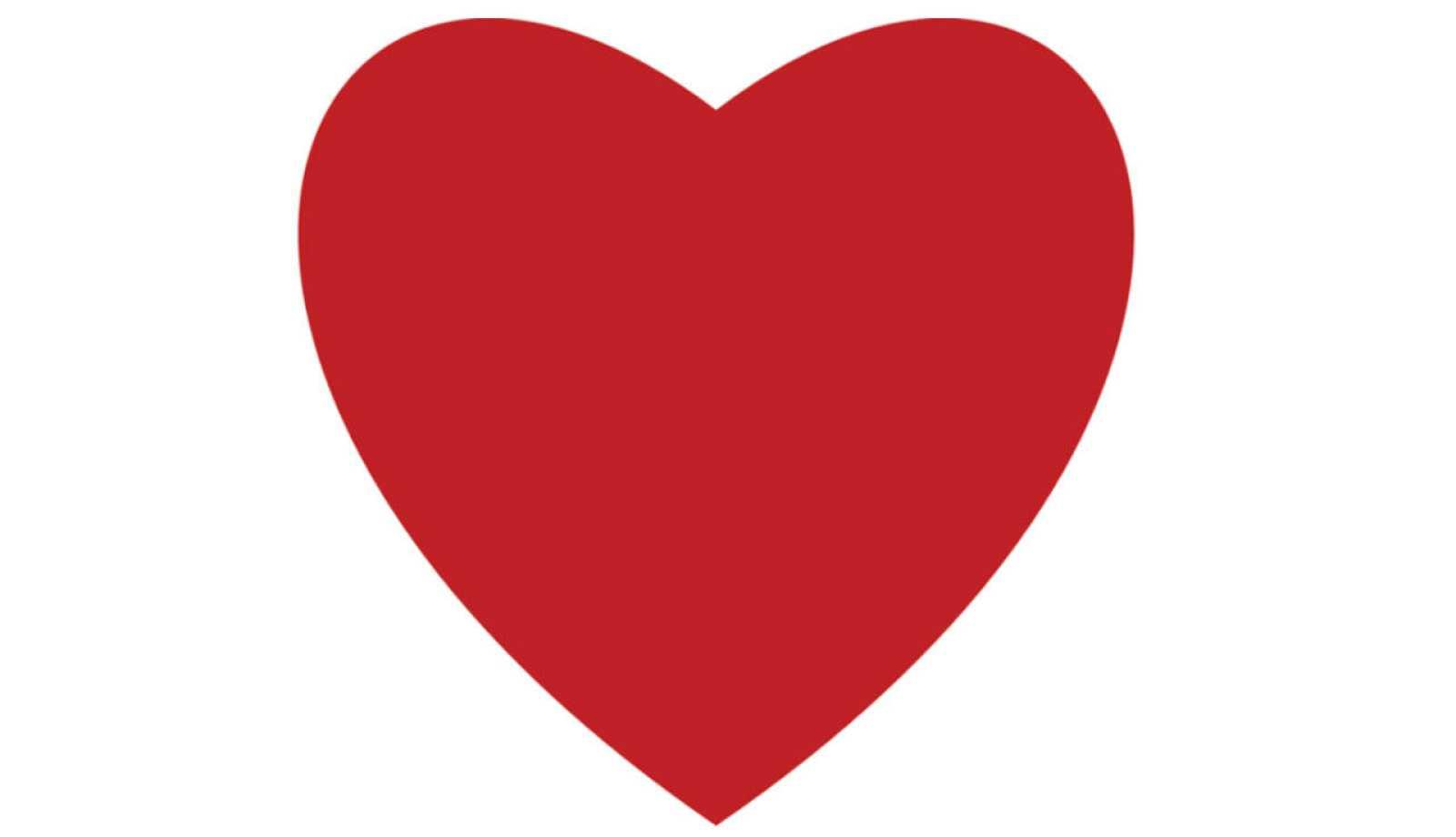 Un corazón sustituye a la estrella para marcar favoritos