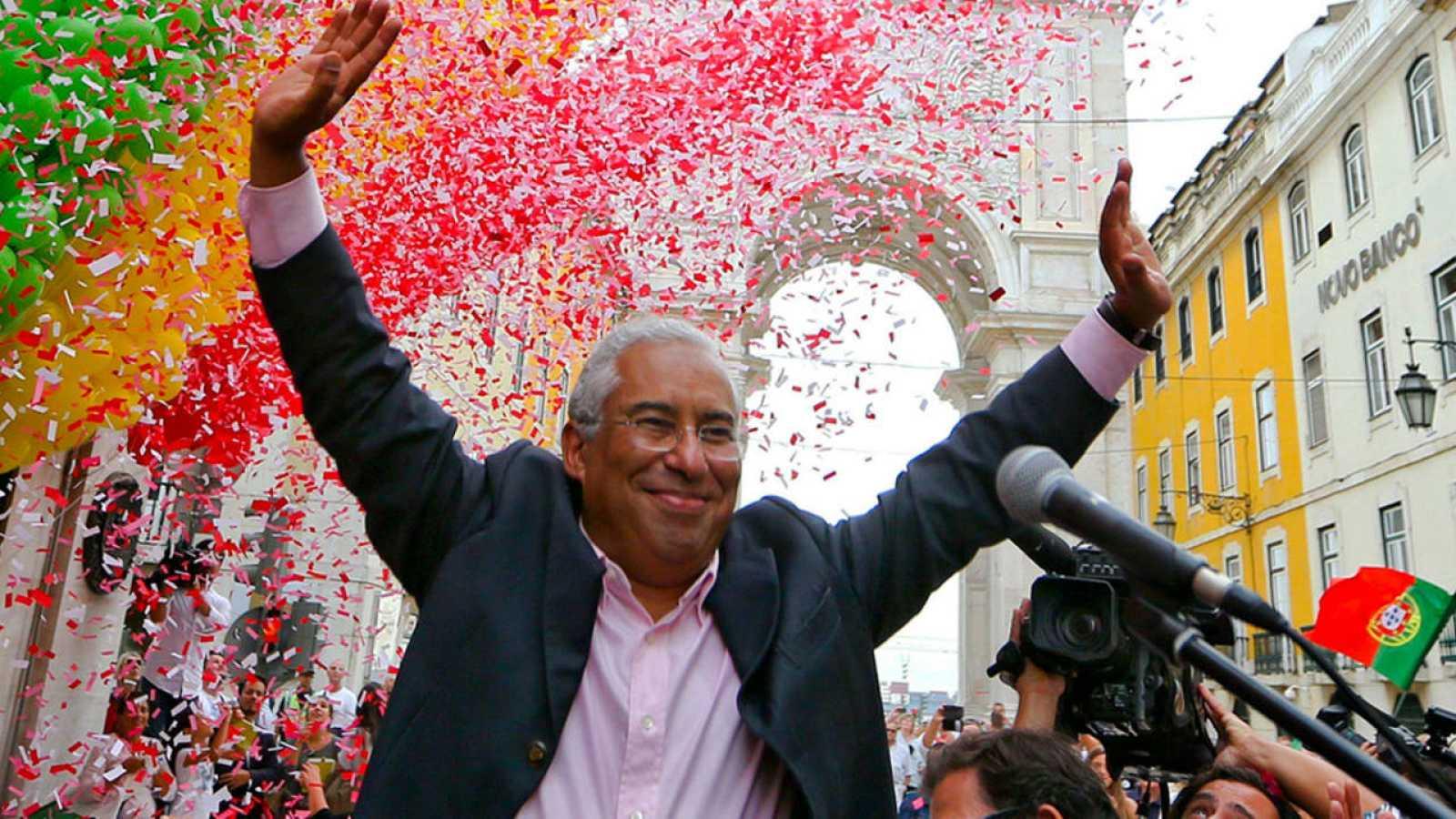 Imagen de archivo del líder del Partido Socialista de Portugal, Antonio Costa.