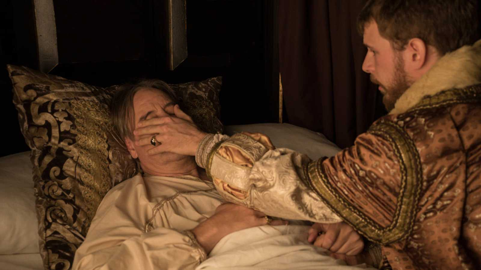 Carlos V asiste a Gattinara antes de morir