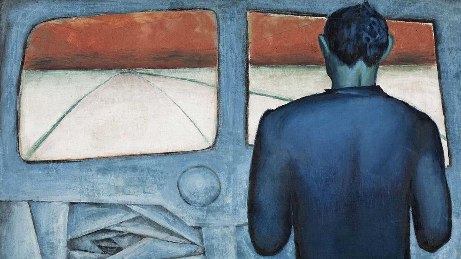 'Chófer azul' (1948), Cortesía de la Fundación Andrzej Wróblewski