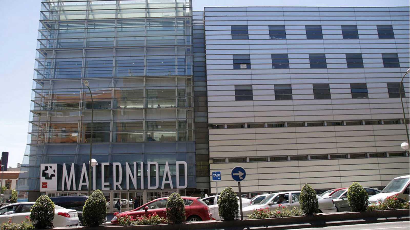 Fachada del Hospital Maternidad O'Donnell, en Madrid