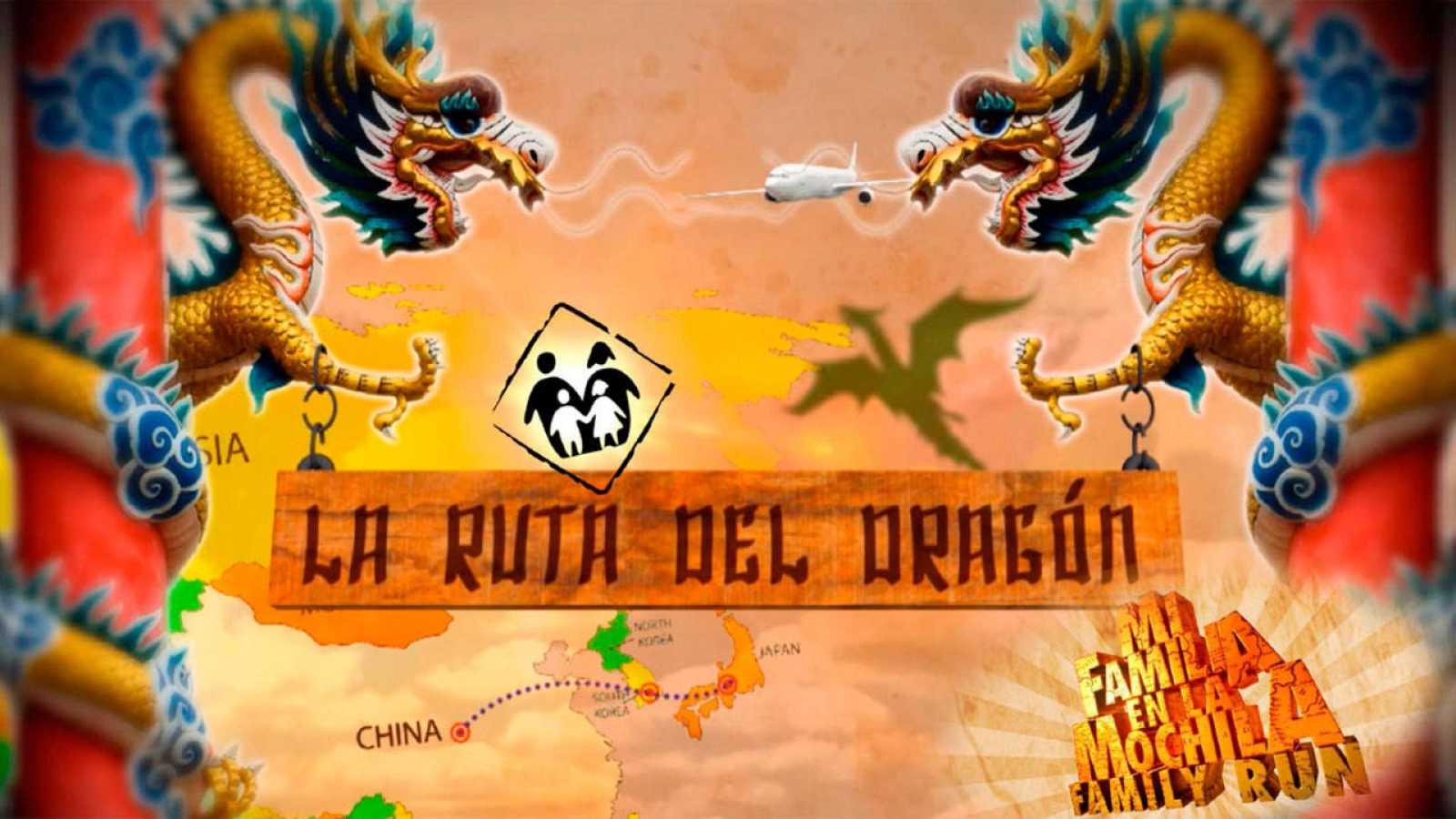 """Mi Familia En La Mochila - Family Run. """"Ruta Del Dragon"""""""