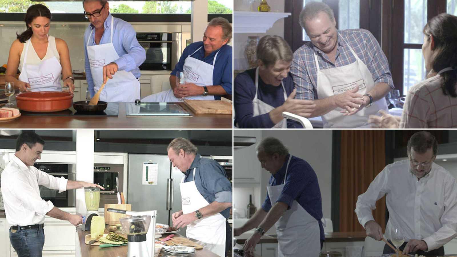 Bertín Osborne en la cocina