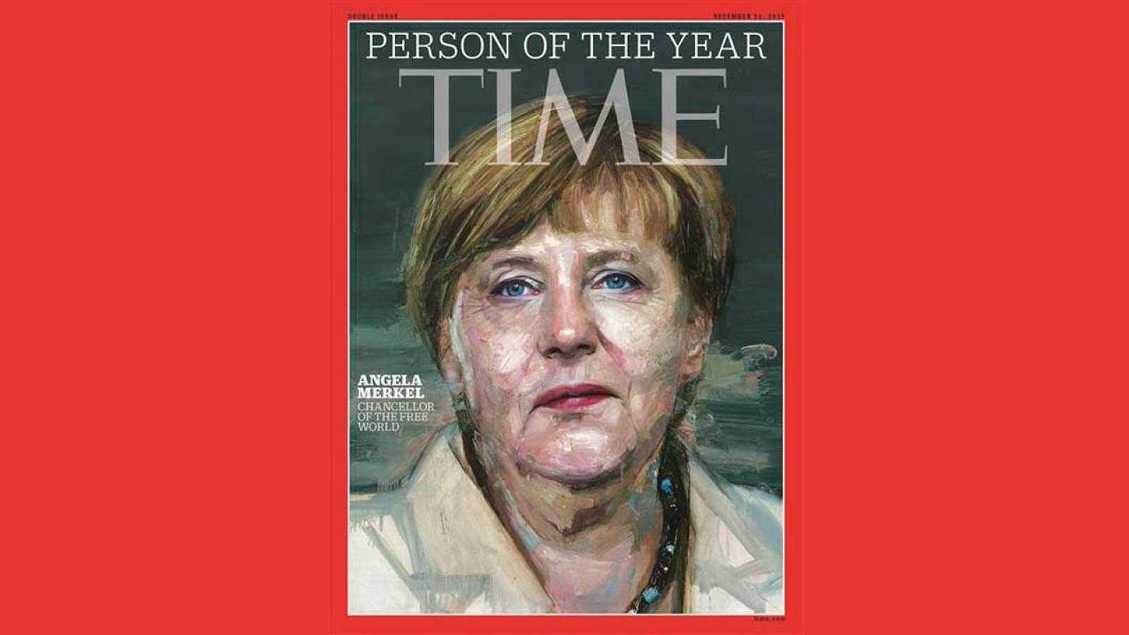 Angela Merkel es la persona del Año 2015 para la revista 'Time'.