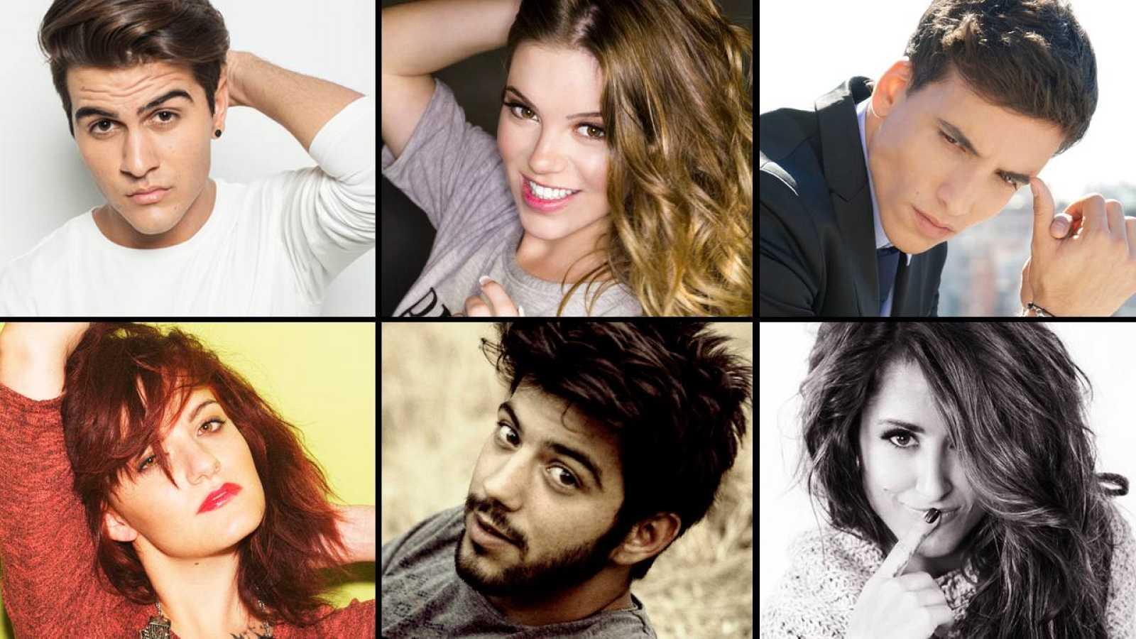Los seis candidatos a participar en Eurovisión 2016