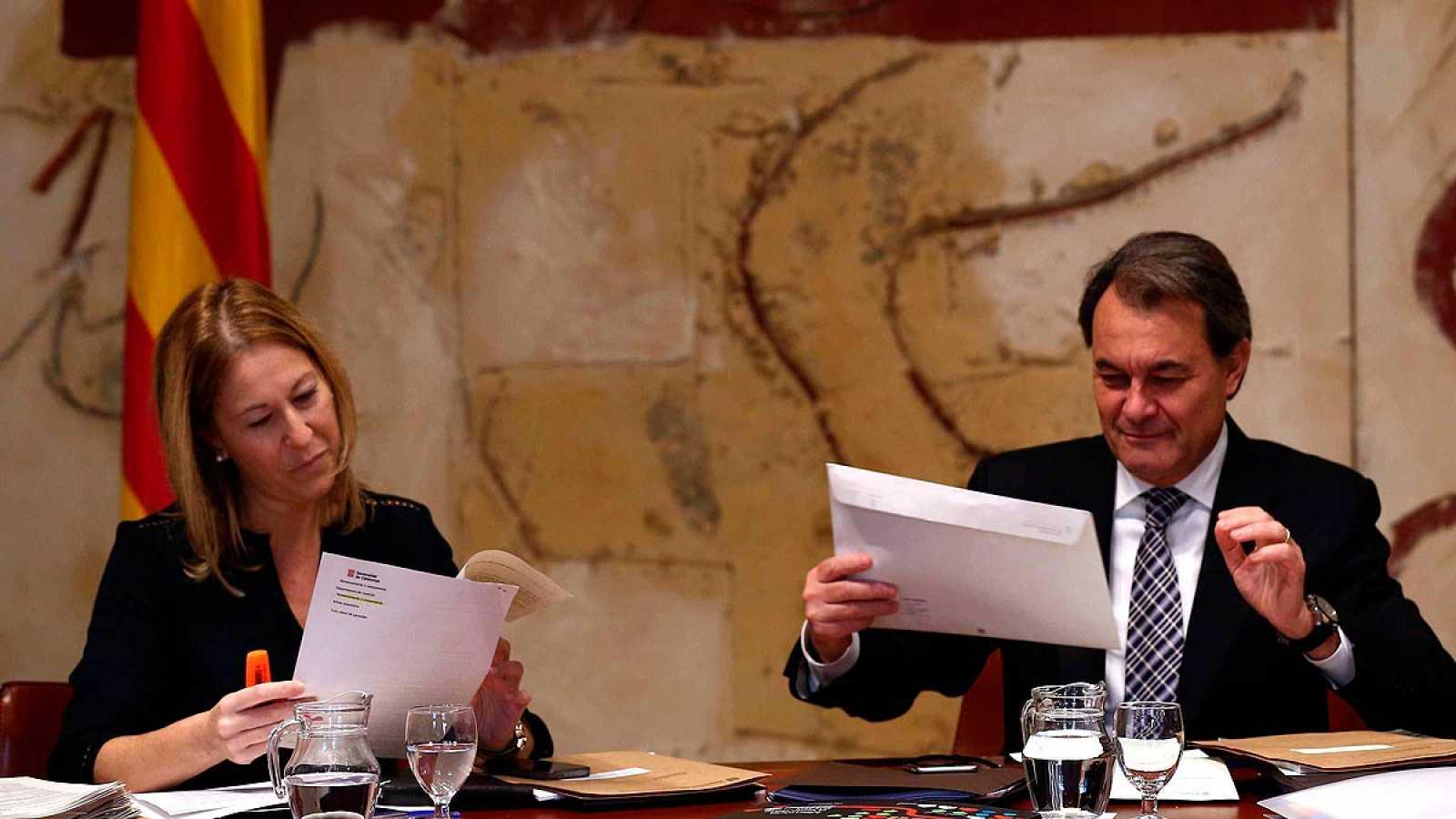 """CDC asegura que """"no hay candidato alternativo"""" a Artur Mas"""