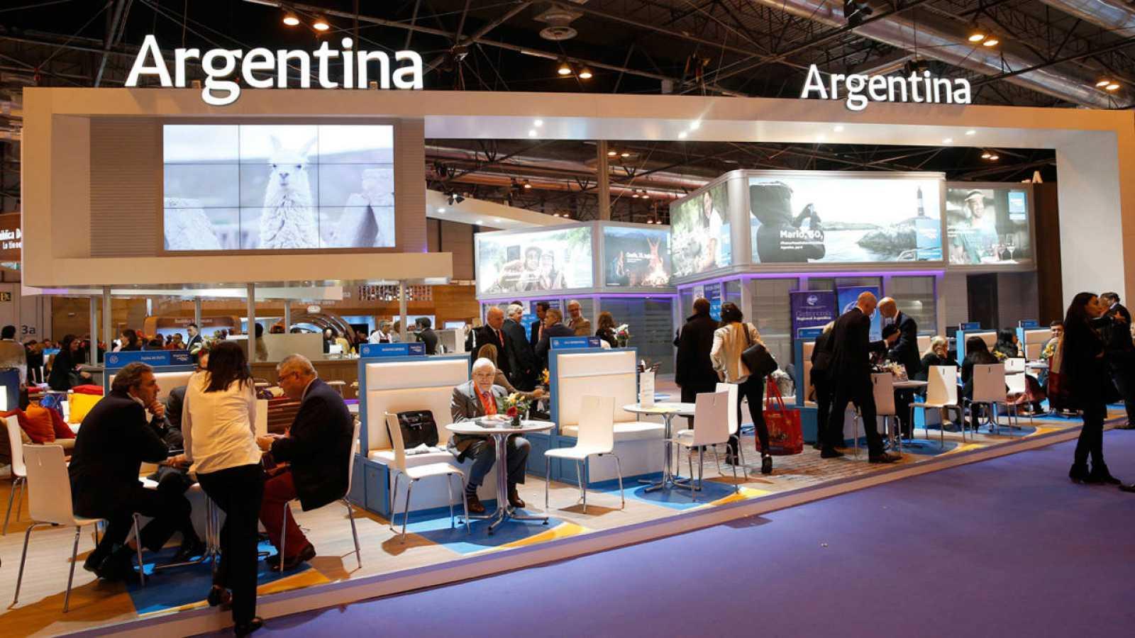 Stand de Argentina en Fitur