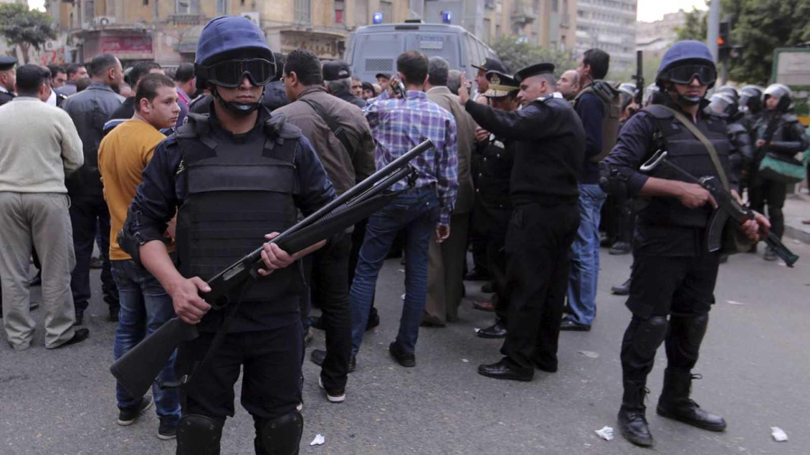 TERCER ANIVERSARIO DE LAS PROTESTAS PREVIAS A LA PRIMAVERA ÁRABE EGIPCIA