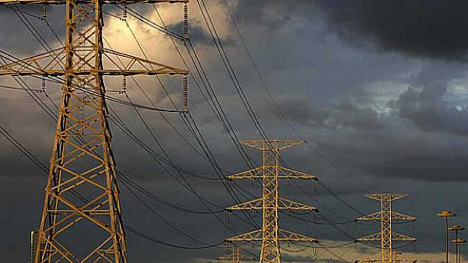 Torretas de alta tensión
