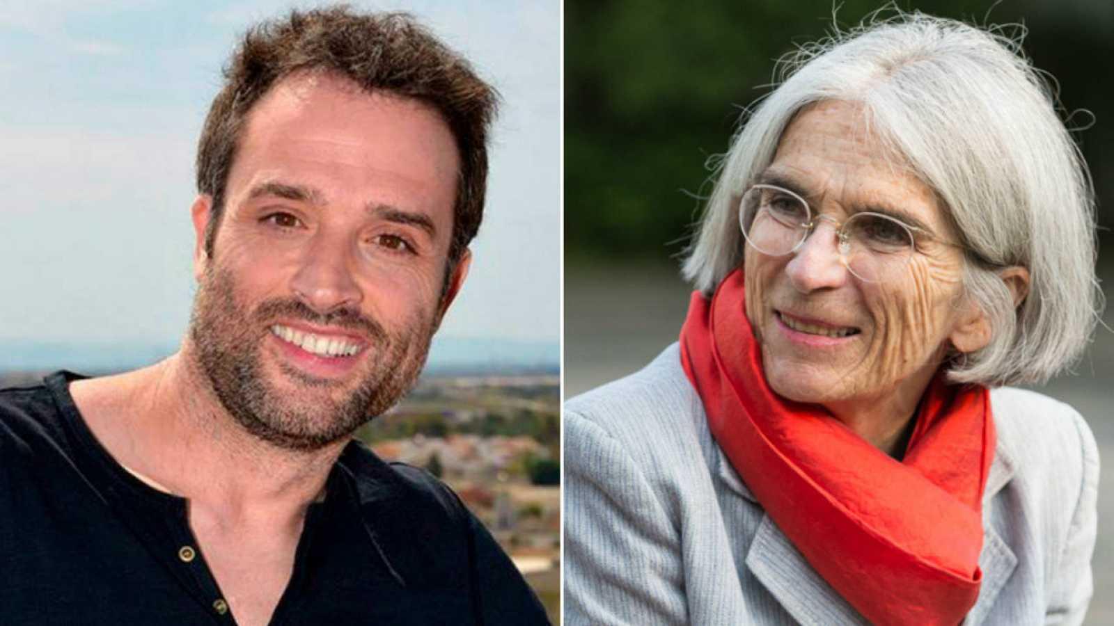 Daniel Guzmán y Donna Leon