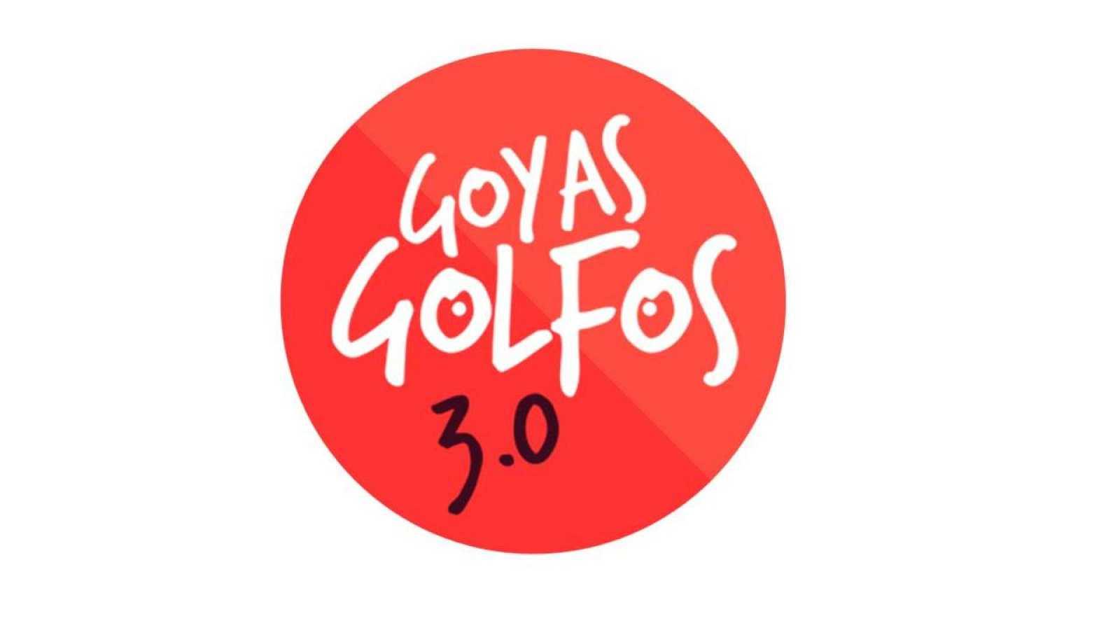 Así es el logo de los goyas golfos 3.0
